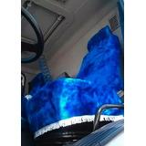 Funda Cubre Asiento Peluche Camion Butaca Butacon Premium
