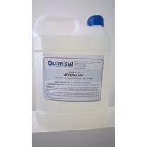 Acetona 60% Galão 5 Litros(máx. 2 Galões Por Frete)