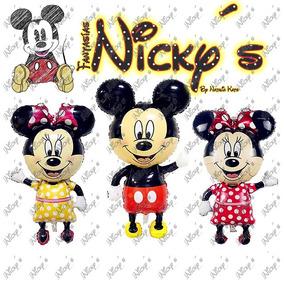 Globo De Mickey O Minnie Mouse De 114 X 63cm Gigante Decora