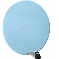 Antena Satelital Tipo Off Set Azul Fta Sky Dish