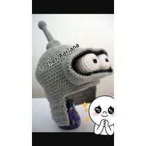 Bender Gorro Tejido Crochet Niños Y Adultos