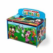 Caja De Juguetes Baul Juguetero Mickey Mouse De Disney