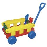 Carro Arenero Con Pala Y Rastrillo Juguete Niños