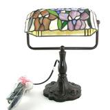 Novo Abat Jour Lampada Estilo Tiffany Art Nouveau Vidro