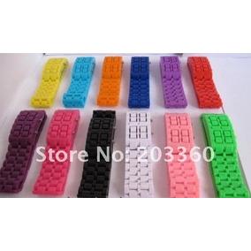 Relógio Multicor Led Bracelet Sport Plastic - Unisex