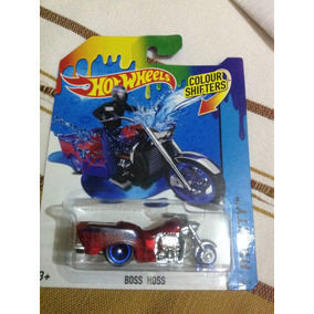 Hot Wheels Boss Hoss Color Shifter!