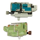 Placa Conector De Chip E Cartão S3 I9300 Galaxy Original