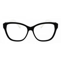 Armação Oculos Grau Lacoste L2712 001 Feminino Preto
