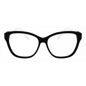 Armação Oculos Grau Lacoste L2712 001 Feminino Preto- 52x14
