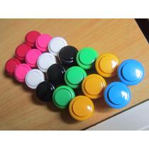 Botões Sanwa Genérico 24mm! Várias Cores.