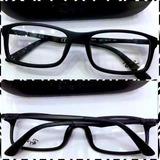Rb7017 Armação Esportiva Óculos Emborrachado Preto+ Case