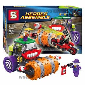 Lego Coringa Com Rolo Compressor Contra Robin Brinde Batman