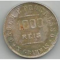 Moeda De Prata 1000 Reis 1907 10 Gramas Catalogo P-687 (2)