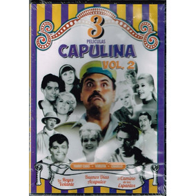 Dvd Triple Capulina Vol. 2 Reyes Del Volante Acapulco Camino