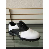 Zapato Foot Joy Contour Blanco Negro Gris Modelo 54014