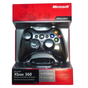 Controle Xbox 360 / Pc Sem Fio Wirelles Original Microsot