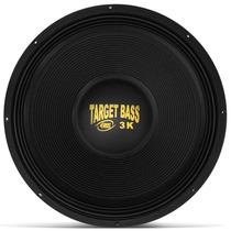 Alto Falante Sub Eros 18 Pol 1500w Rms3k Target Bass