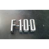 Insignia Ford Pick-up F100 Mod 74/80 Lateral Plástico Crom.