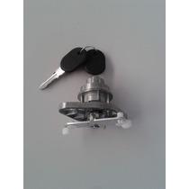 Botão Com Chave Porta Traseira Baú Fiorino De 96 À 04
