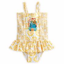 Vestido De Baño Frozen Talla 5/6 Disney