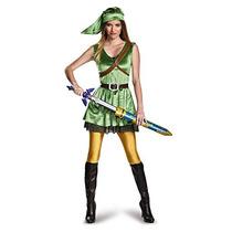 La Leyenda De Zelda Disfraz Mujeres De Adultos Traje D W51