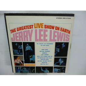 Jerry Lee Lewis Greatest Live Show On Earth Vinilo Americano