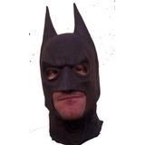 Máscara Batman Dark Knight (artesanal Em Látex)