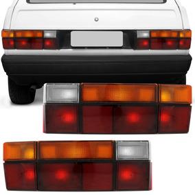 Lanterna Traseira Gol Quadrado 1987 A 1994 Tricolor