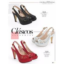 Hermosos Zapatos Plataforma Dama Casual-noche De Moda Cklass