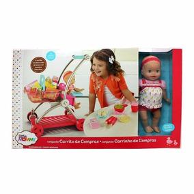 Boneca Little Mommy Bebe Com Carrinho De Compras Mattel