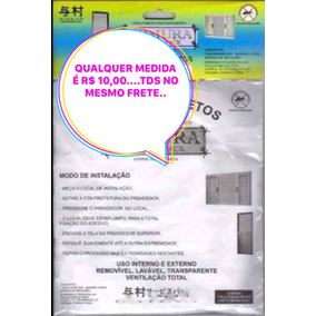 Tela Mosquiteira Anti-inseto/mosquito Janela Qualquer Medida