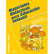 Ebook Materiales Didácticos Para Educación Infantil