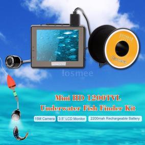 Câmera De Pesca Subaquática +15m Cabo + Frete Grátis