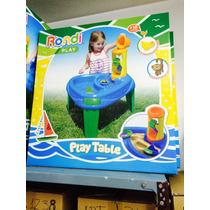 Play Table C/accesorios Rondi
