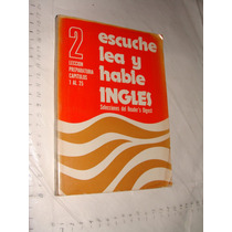 Libro Escuche Lea Y Hable Ingles , Readers Digest , 224 Pagi