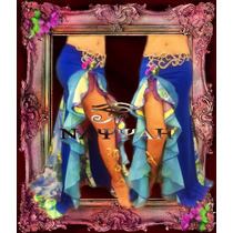 Pollera Edicion Limitada Danza Arabe -belly Dance-