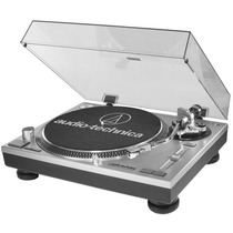 Vitrola Toca Disco Audio Technica At-lp120 Usb+agulha+escova
