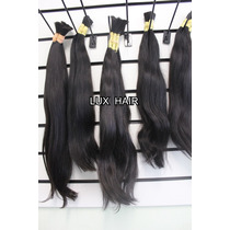 Cabelo Humano Natural Indiano 60 Cm 100 Gramas Mega Hair