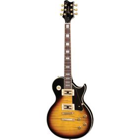 Frete Grátis - Golden Gld155g Guitarra Les Paul Brown Burst