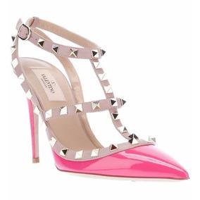 Sapato Valentino Rockstud Original Na Caixa Luxuoso
