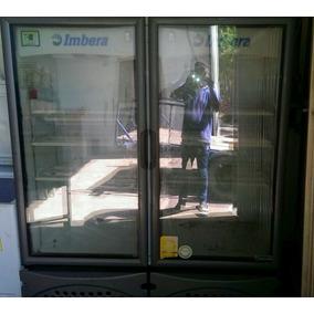 Refrigerador Industrial 2 Puertas Marca Imbera Semi-nuevo