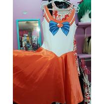 Halloween Cosplay Disfraz Vestido Sailor Venus Sailor Scouts