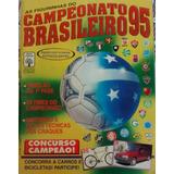 Álbum Campeonato Brasileiro 1995 - Completo Perfeito Estado