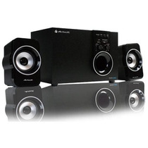 Bocinas Pc Sistema Audio Multimedia Subwoofer Sd Usb Acteck