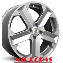 Roda Aro 17 Gm Chevrolet Montana Sport - Prata - 4x100
