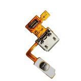 Conector Flex Usb Carga E Botao Power Lg P970 Optimus Black