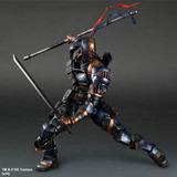 Deathstroke Batman Arkham Play Arts Square Enix Robin Joker