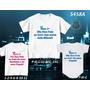 Camisetas Primeiro Dia Dos Pais Aniversario Kit Com 3 Peças