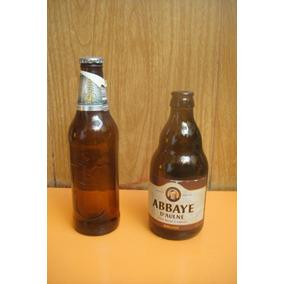 Botellas De Cerveza Vacías Para Adorno