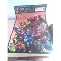 Poster Marvel - Comic Vengadores Spiderman Capitan America